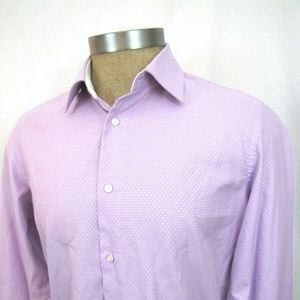 ROBERT GRAHAM 15.5 Shirt Micro Check EU 39